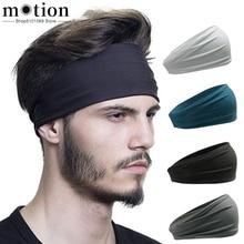 Мужская повязка на голову, впитывающая, для велоспорта, йоги, пота, спортивная повязка на голову, мужской свитер для мужчин и женщин, для йоги, повязки на голову, спортивные повязки