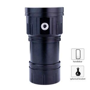 Image 2 - Đèn LED Mới Lặn Đèn Pin Sử Dụng XHP70 / L2 Hạt Đèn 20000Lumens Chống Nước Chiến Thuật Đèn Pin Chụp Ảnh Camera Chiếu Sáng
