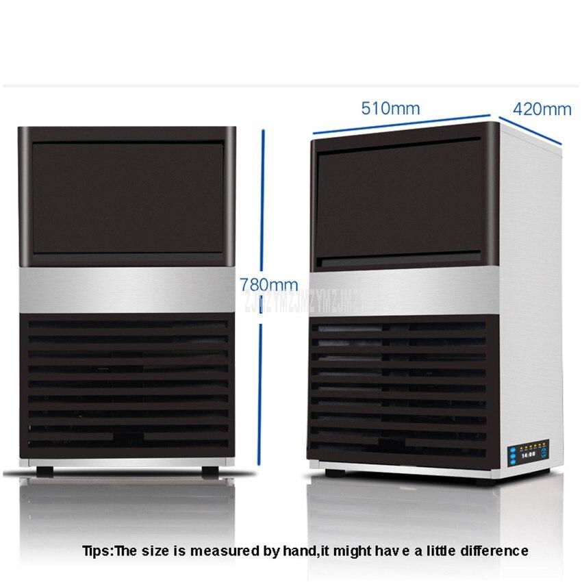 85 kg/tag Automatische Elektrische Quadratische Form Eis Maker Blu ray Desinfizieren Ice Cube, Der Maschine Für Milch Tee Kaffee bar Shop ZC 091 - 3