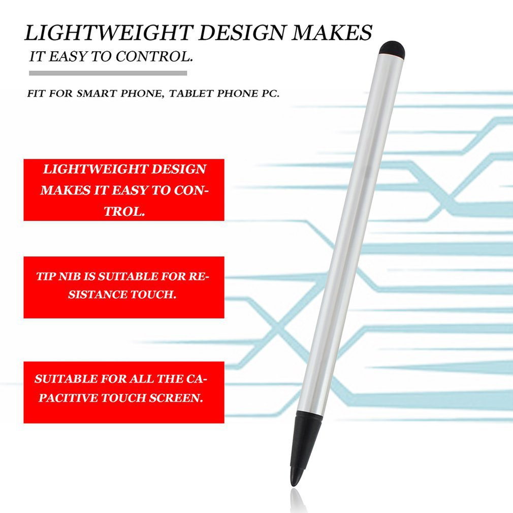 Simple Dual-use Touch Screen Pen Resistance Capacitance Pen Touch Screen Pen Mobile Phone Touch Screen Pen Touch Metal Pen
