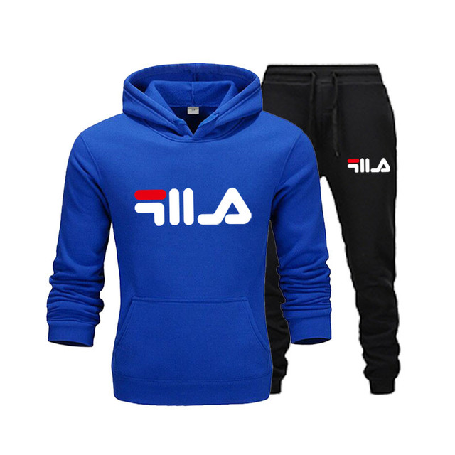 New Brand Clothing Men's Pullovers Sweater Cotton Men Tracksuits Hoodie Two Pieces + Pants Sports Shirts Fall Winter Track suit 2
