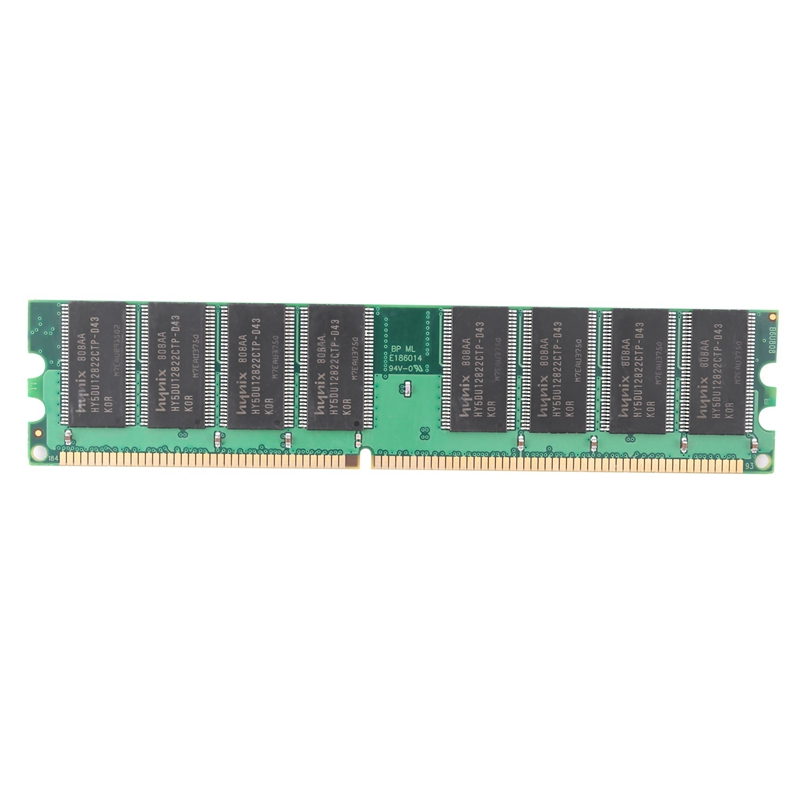 DDR 1GB PC Memory Ram DDR1 Desktop PC3200 400MHz 184 Pin Non-ECC Computer Memoria Module