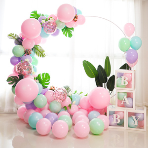 98cm Round Arch Balloon Ring Stand Balloons Hoop Wreath Wedding Decorations Birthday Party Supplies Baby Shower Garland