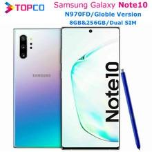 Samsung Galaxy Note10 N970FD Hinweis 10 Dual SIM Original Handy Exynos 9825 Octa Core 6.3