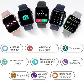 DT100 Plus Smartwatch Men Women Bluetooth Call Custom Dynamic Watch Face PK HW22 Smart Watch 2021 IP67 Waterproof 320 385 1.75″ 4