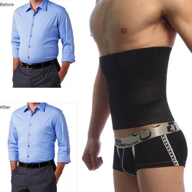Men's Slimming Belt Men Waist Trainer Cincher Body Fajas Corset Gym Sport Men Shaper Slim Belt 3FS