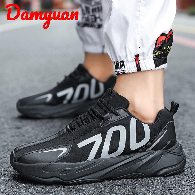 Super fibre breathable running shoes Comfortable men 39 s Fashion jogging casual 39 to 44 yards in Running Shoes from Sports amp Entertainment