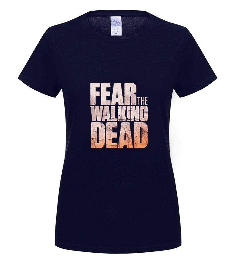 Officiel Fear The Walking Dead T-shirt Andrew Lincoln aucun Sanctuaire Rick Daryl
