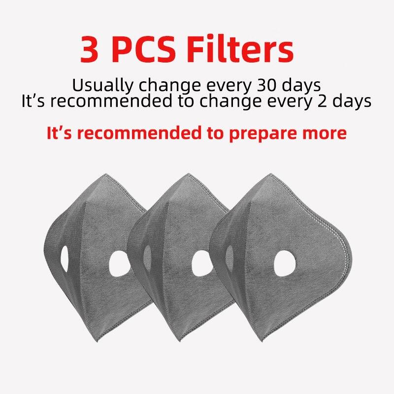 3 PCS Filters