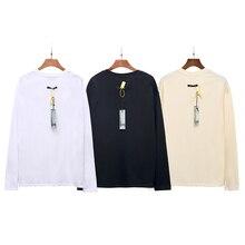 Autumn New FG Justin Bieber Long Sleeve T-shirt Men Women Cotton High Quality T Shirt Solid Color Essentials T-shirts