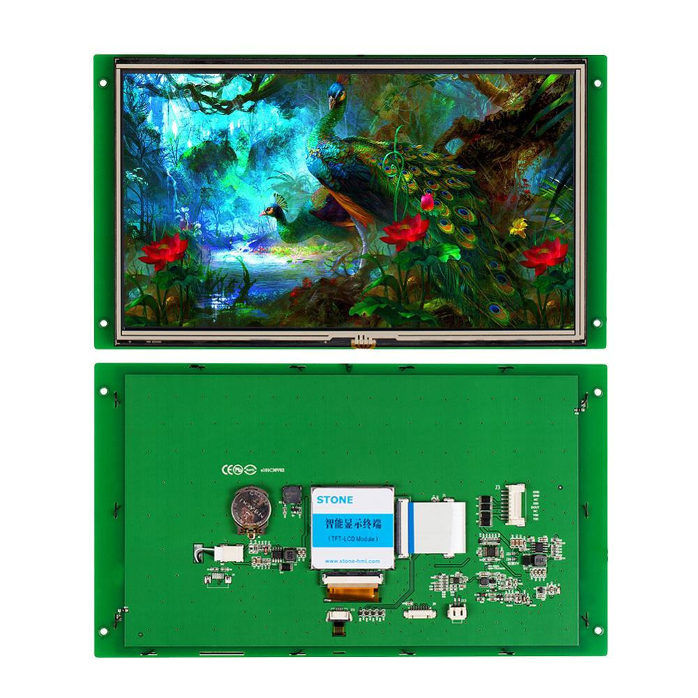 STONE 10.1 Inch HMI TFT LCD Display Module With RS232/RS485+GUI Design Software For Equipment Use