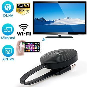 цена на Miracast/Airplay /Chromecast Wireless HDMI Android IOS tv stick Receiver Wifi Dongle mirror Screen streamer DLNA