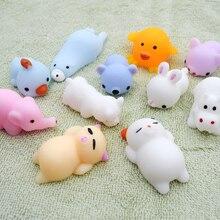 41 modelos de juguetes apretones Mini cambio de Color blandos animales lindos Anti-estrés bola apretón suave pegajoso alivio de estrés divertido juguete de regalo