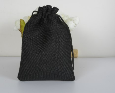 15*20cm de linho corda natal presente sacos