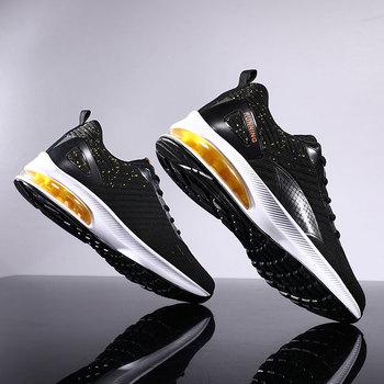 Damyuan Sneakers per uomo cuscino d'aria scarpe da corsa da uomo traspiranti morbide e comode scarpe sportive da passeggio Casual da uomo Zapatillas 1