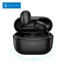 Touch Control Haylou GT5 Wireless Charging Bluetooth Earphones AAC HD Stereo Sound,Smart Wearing Detection, 24hr battery life