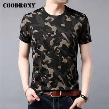 COODRONY Spring Summer Short Sleeve T-Shirt Men Streetwear Fashion Pattern O-Neck T Shirt Men Soft Cotton Tee Shirt Homme C5046S mardi gras princess new orleans nola bouron street party costume womens t shirt short sleeve o neck t shirt homme top tee