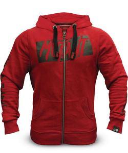 Image 4 - Mutant erkek kış yün gevşek ceket atlet tişörtü erkek polar Hoodies Stringer vücut geliştirme spor gömlek uygun