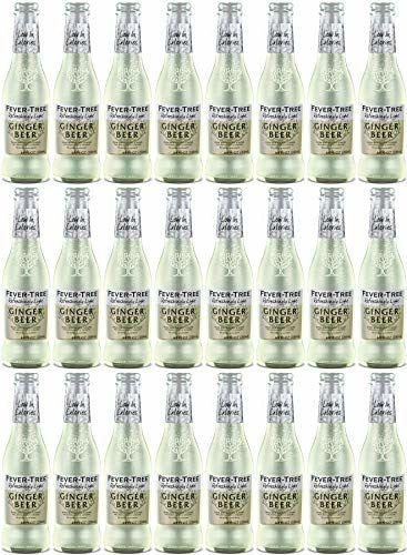 Fever - Tree, Refreshingly Light, Ginger Beer, Pack 0f 24