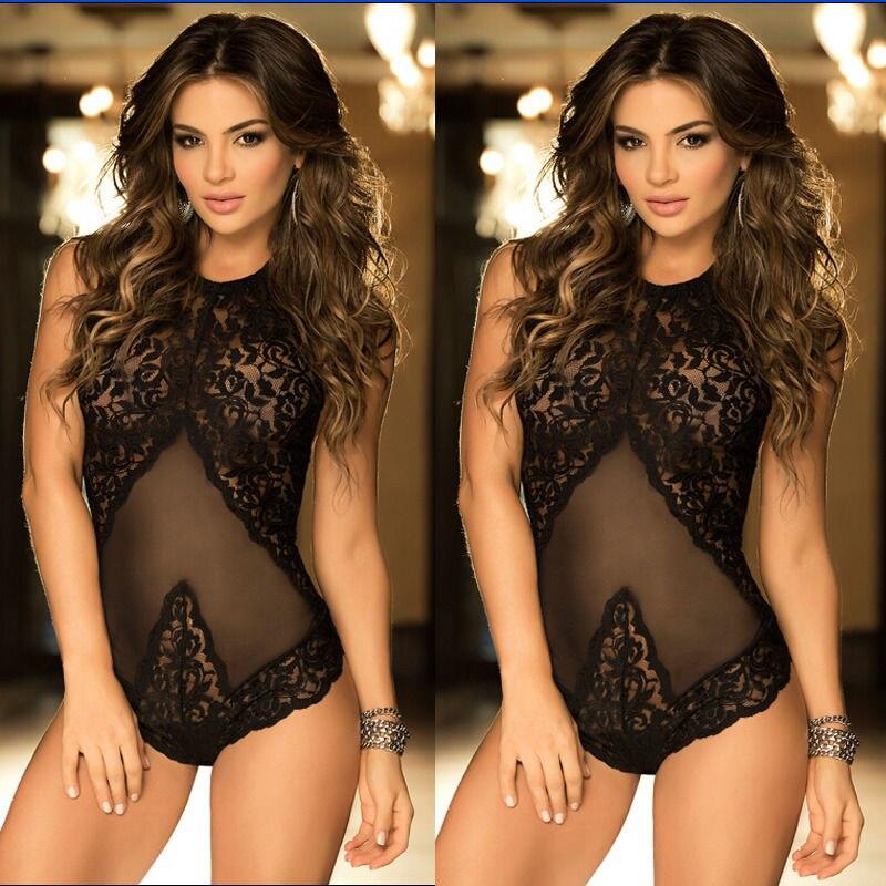 Hot Sleepwear Nightgown Lace Solid Sexy Lingerie Corset Costumes Womens Nightwear Hot Erotic Women Underwear Babydolls