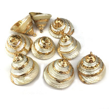 Wholesale New Natural Shell Pendants & Necklace Charms for Jewelry Making Supplies DIY Bracelet Necklaces Accessories 15x25mm