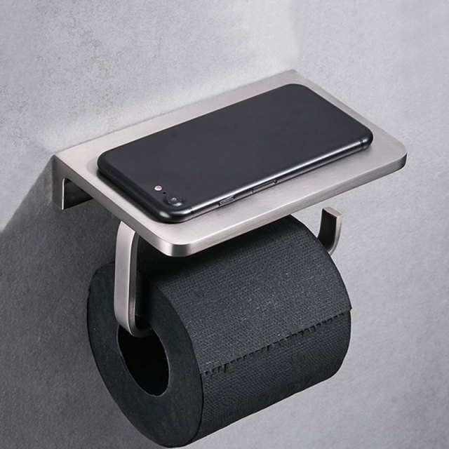 Support Telephone Rouleau Papier Toilette
