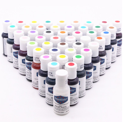 41 Colors America Americolor Natural Edible Pigment 21g For Dessert Cake Macaroon Drinks Free Shipping