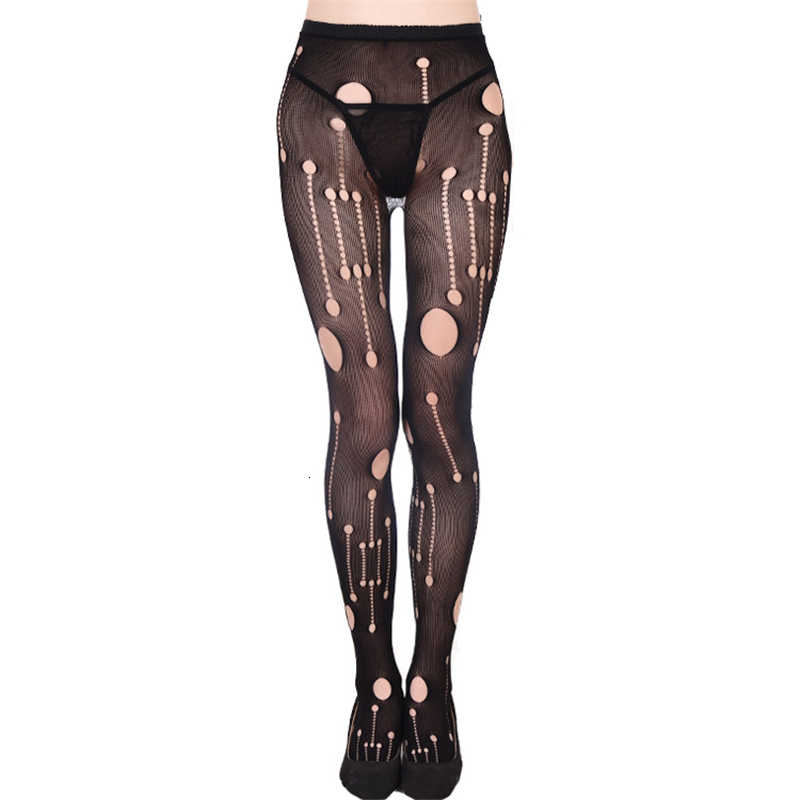 Vrouwen Sexy Kousen Transparante Visnet Dij-Highs Plus Size Vrouwen Panty Open Kruis Mesh Panty Medias De Mujer SW009