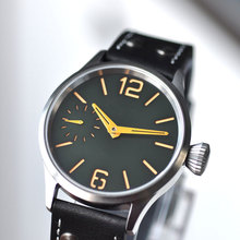 Mens Watch 6497 Sterile Fashtion Hand-Winding Sapphire Luminous-Dial 43mm with Orange