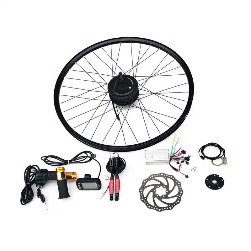"Electric Bicycle Mid-drive Motor Kit DIY Conversion Kit for 16/""~26/""Bike 350//450W"