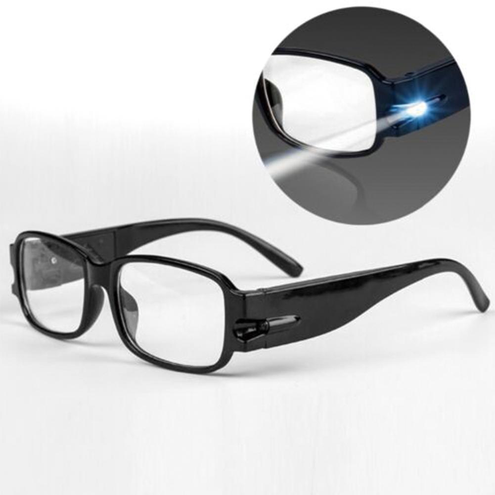 Multi Strength Reading Glasses With LED Eyeglasses Man Woman Unisex Spectacle Diopter Magnifier Light Up Reading Glasses
