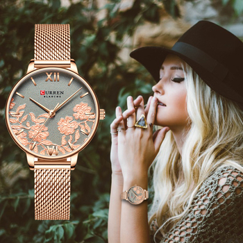 CURREN Top Brand Women Watches