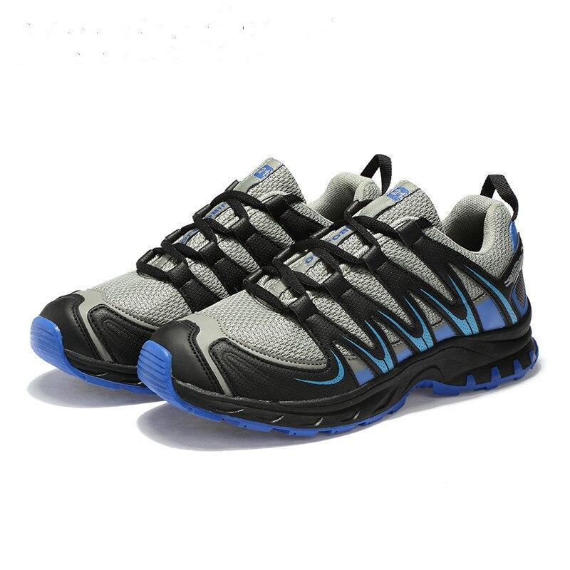 Men Comfortable Non-Slip Hiking Shoes Solomon Series Outdoor Shoes  Sneakers Men Breathable Hiking Boots Sport Shoes