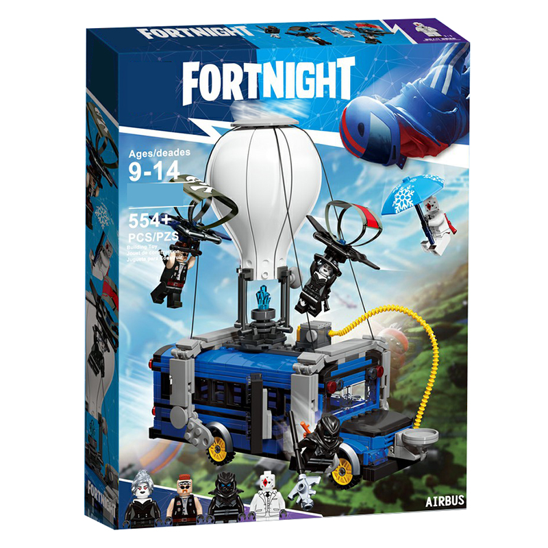 Fortress Night Airbus Model Airplane Compatible With Legoings Building Blocks Of Ideas Air Plane Bricks Toys For Kids Gifts