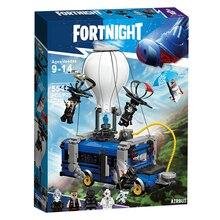 Fortress Night Airbus Модель самолета Совместимость с legoings строительные блоки идей Воздушный самолет Кирпичи игрушки для детей Подарки