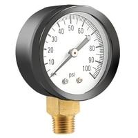 Simmons 1305 0 100 Psi 1/4 inch Well Pump Water Pressure Gauge Ts50 100Psi|Pressure Gauges|   -