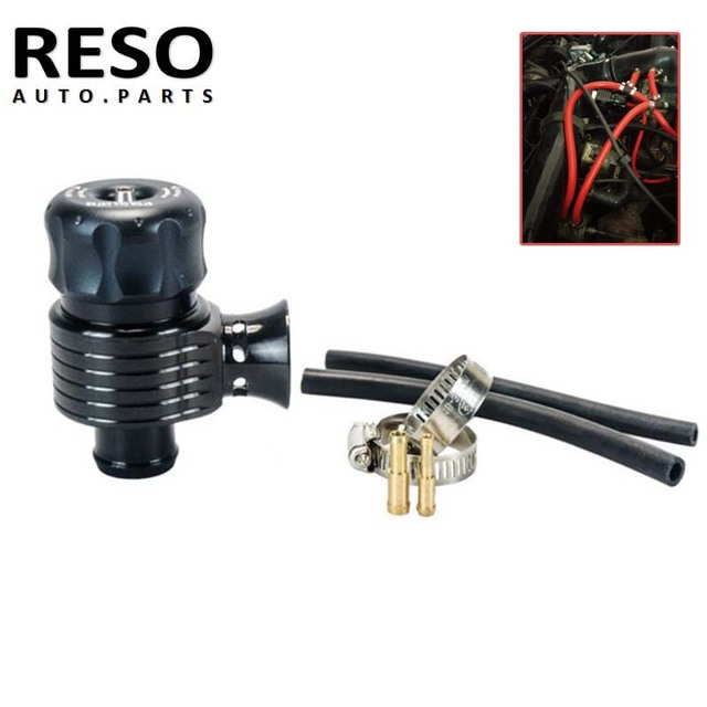 Universal Recirculation 25mm Turbo BOV Diverter Dump 1.8T Blow Off Valve With Horn for Audi A3 S3 A4 A6 A8 S4 TT 1.8 20v Turbo 1