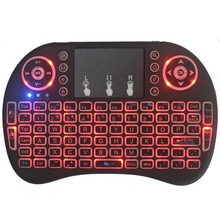 New 2014 Air Mouse 92 Key Mini Portable 2.4GHz English layout Keyboard Mouse Touchpad Remote Game Controller Wireless Keyboard