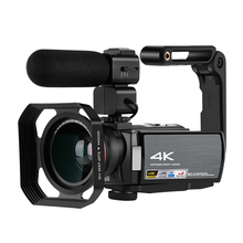Video Camera 4K Camcorder Professional Portable IR Night Vis
