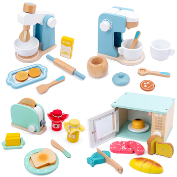 Kid's Kitchen Toys Simulation Microwave Oven Educational Toys Mini Kitchen Food Pretend Play Cutting Role Playing Girls Toys mini simulation kid cute microwave oven pretend role play toy educational for children role playing kitchen toys playing house