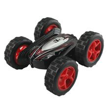 Taw-C2 Remote Control Double-Sided Stunt Car Charging Roll 360 Degree Rotating Children'S Electric Stunt Double-Sided Toy Car(China)