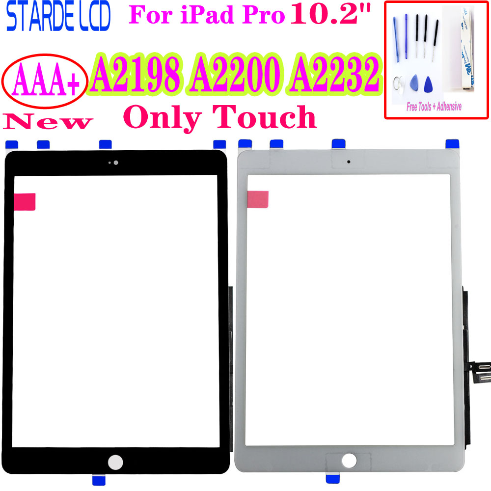 "AAA+ 2019 New For iPad Pro 10.2"" Touch Screen Digitizer Sensor A2198 A2200 A2232 Screen Replacement Not LCD"