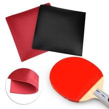 Резиновые портативные спортивные ракетки для настольного тенниса, красные, черные, для пинг-понга, резиновые, для улицы, для настольного тенниса, с рукавом, для тренажерного зала, полезные инструменты