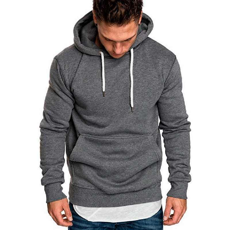 Jodimitty 2020 Nieuwe Herfst Winter Fashion Solid Hoodies Mannelijke Grote Size Warme Fleece Jas Mannen Merk Casual Sweater Hooded