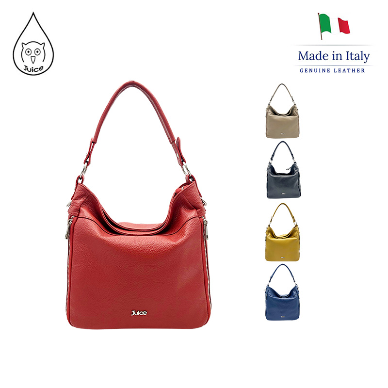 JUICE ,made In Italy, Genuine Leather , Women Bag,Shoulder Bags/cross Body 112053