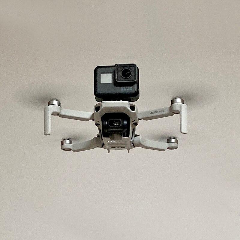 For DJI Mavic Mini Drone 360 Panorama Camera GoPro8 Adapter Bracket Support