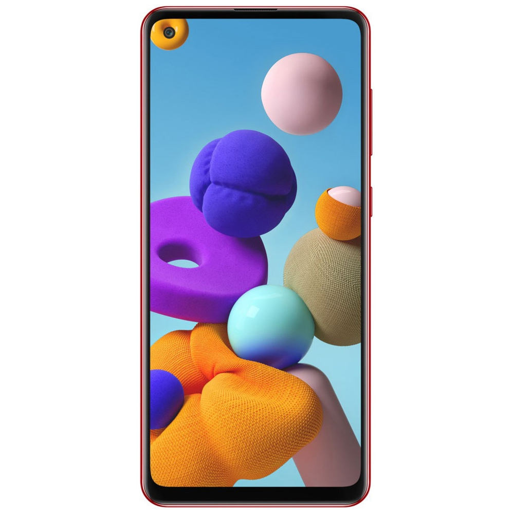 "Смартфон Samsung Galaxy A21s Red 6.5"" TFT Exynos 850 3Гб 32Гб 48Mп Android 10 5000mAh|Смартфоны|   | АлиЭкспресс"