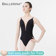 Ballerina ballet practice leotard for Women Dance Costume girls Sling gymnastics Adulto Adjustable shoulder strap Leotards 5085
