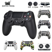 DATA FROG Wireless Bluetooth Gamepad For SONY Playstation 4 PS4 Controller Wired/Wireless Joystick Dualshock