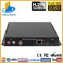 HD H.264 HDMI+ CVBS композитный AV BNC SD видео кодировщик Поддержка Youtube Facebook калькулятор калорий Wowza потоковая трансляция в прямом эфире через RTMP